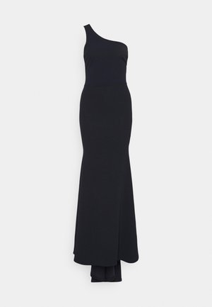 ONE SHOULDER TWIST BRIDESMAID DRESS - Iltapuku - navy