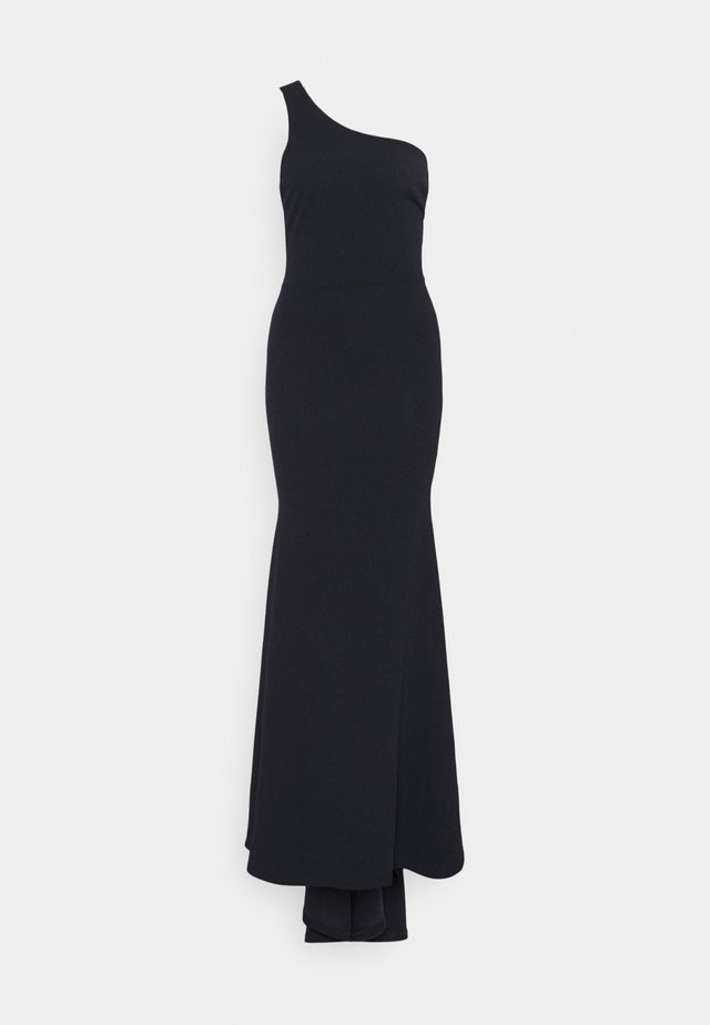 ONE SHOULDER TWIST BRIDESMAID DRESS - Occasion wear - navy