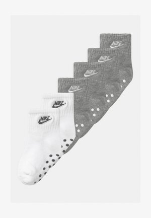 CORE FUTURA GRIPPER 6 PACK UNISEX - Socks - grey heather