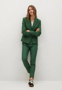 Mango - COFI - Pantalon classique - dark green - 1