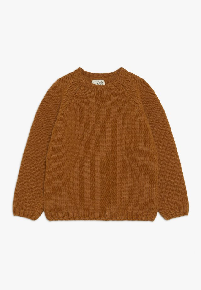 HELMUT - Stickad tröja - ochre