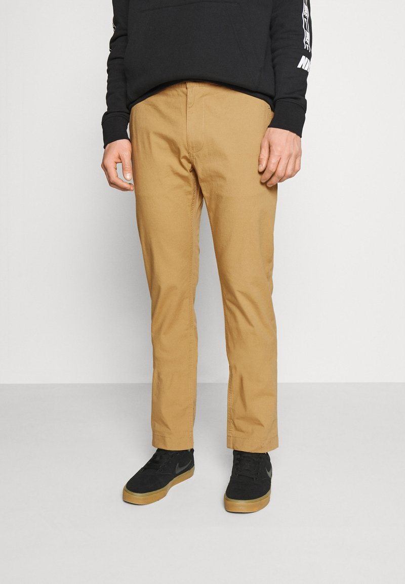 Tommy Jeans - ETHAN BLEND PANT - Chino kalhoty - beige/camel