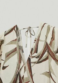 Massimo Dutti - MIT BLÄTTERPRINT  - Day dress - white - 5