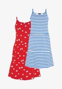 Oklahoma Premium - 2-PACK - Jersey dress - red/white - 0