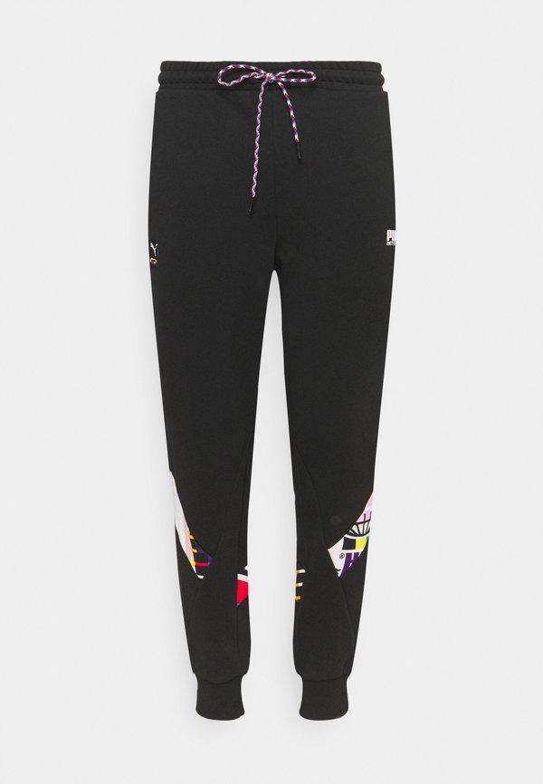 Puma PANTS - Spodnie treningowe - black/czarny Odzież Męska KWHF