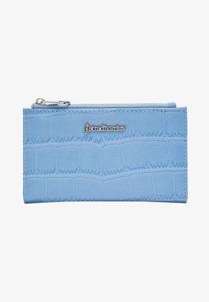 Wallet - mottled blue