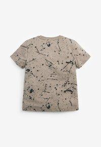 Next - Print T-shirt - stone - 1