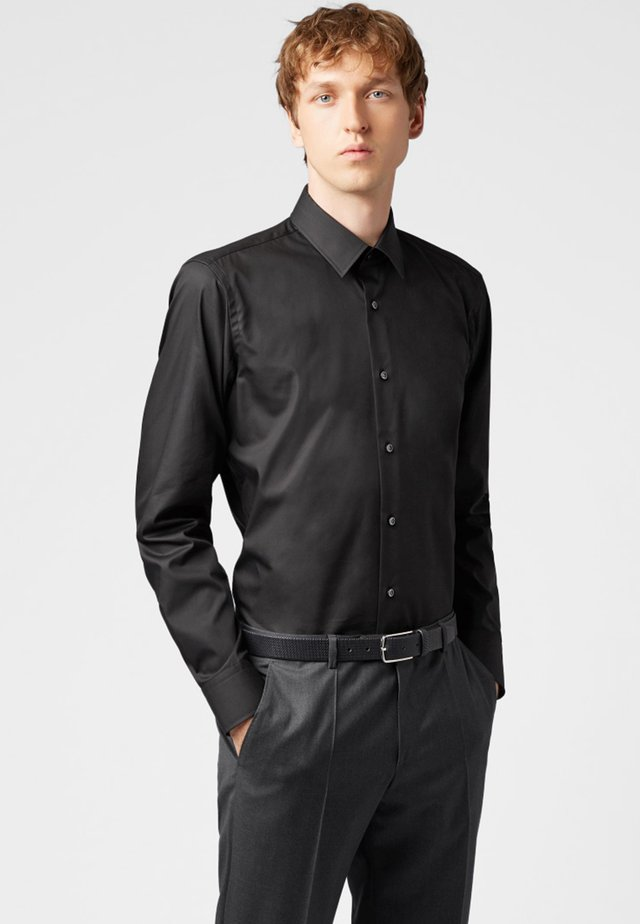 ENZO REGULAR FIT - Formal shirt - black