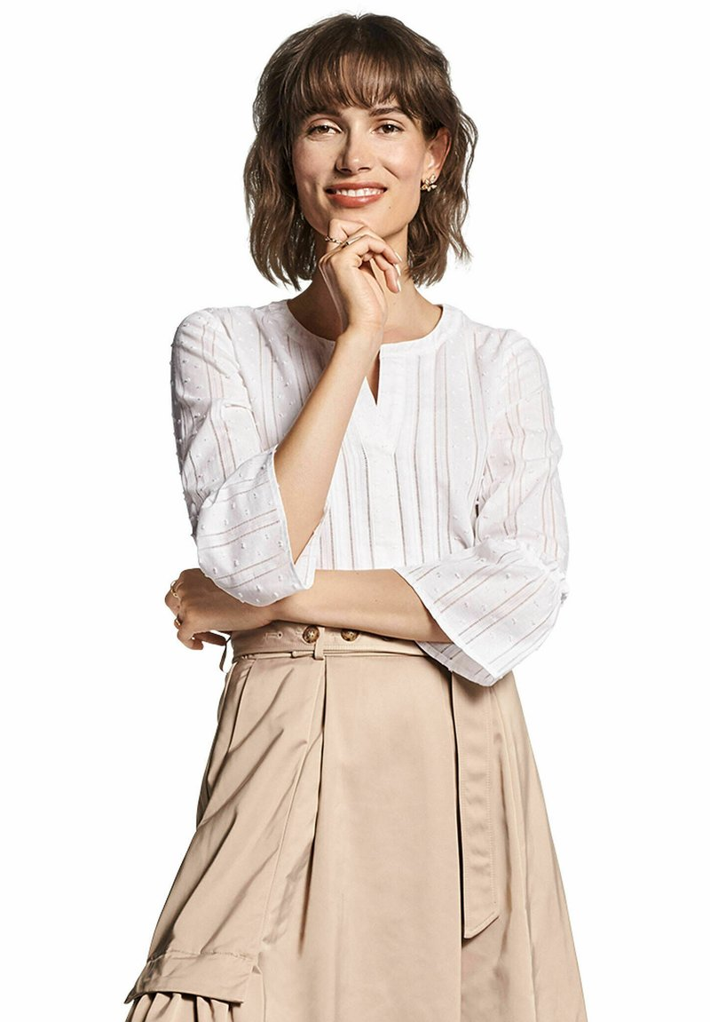RIANI - 3/4-ARM - Blouse - weiss