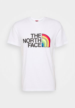RAINBOW TEE - Print T-shirt - white