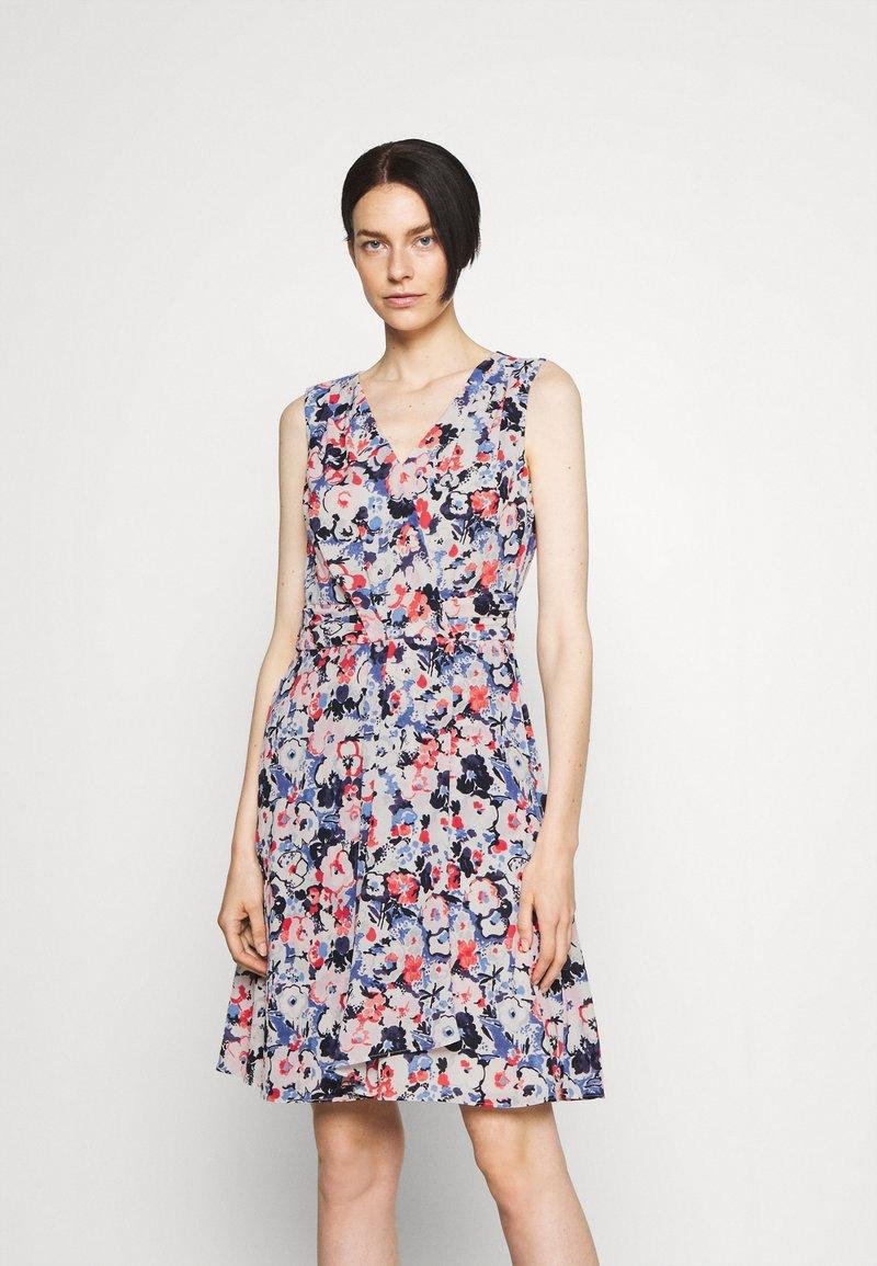Lauren Ralph Lauren - ELNA SLEEVELESS DAY DRESS - Day dress - light navy/pink/multi