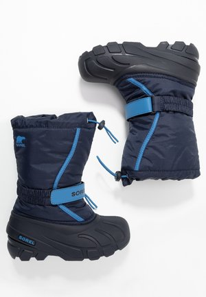 YOUTH FLURRY - Winter boots - collegiate navy/atmosphere