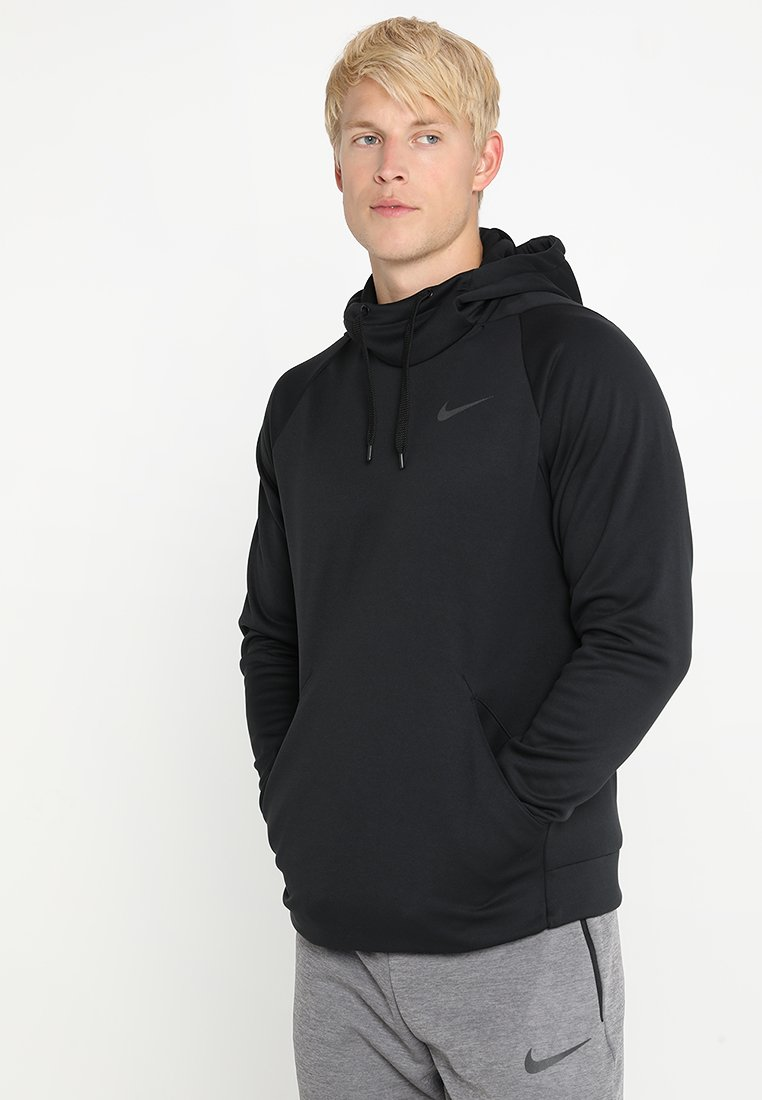 Nike Performance - Jersey con capucha - black/dark grey