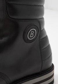 Bogner - COURCHEVEL - Lace-up ankle boots - black - 5