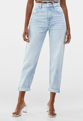 MOM FIT - Relaxed fit jeans - blue denim