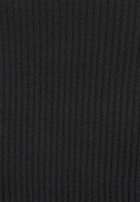 Vila - VIBALU CROPPED - Long sleeved top - black - 2