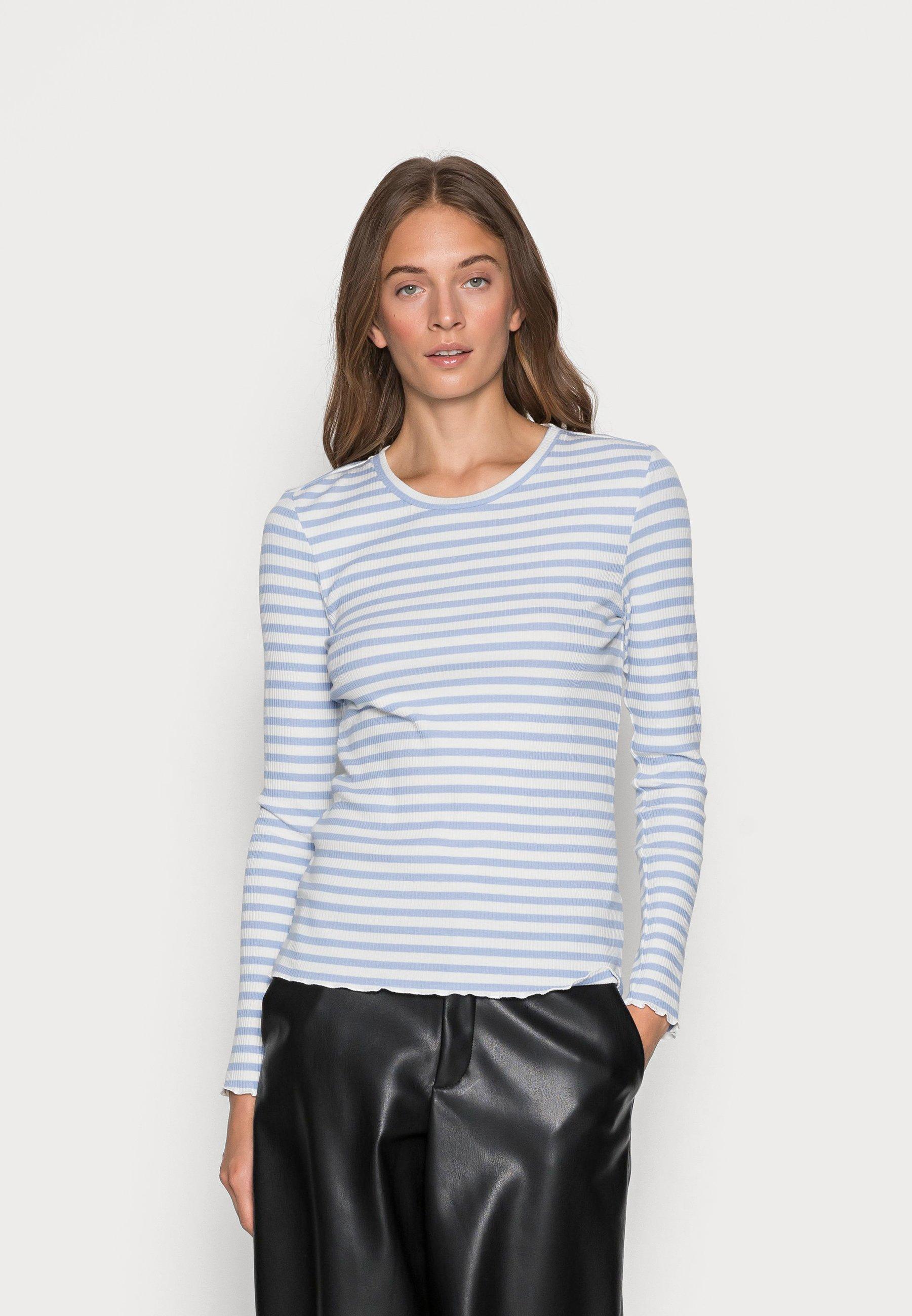 Women SLFANNA CREW NECK TEE - Long sleeved top