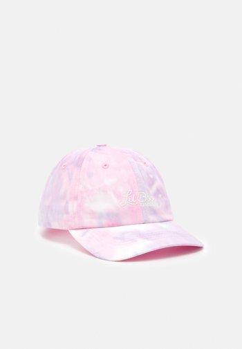 DAD  TIE DIE UNISEX - Cap - pink/light blue