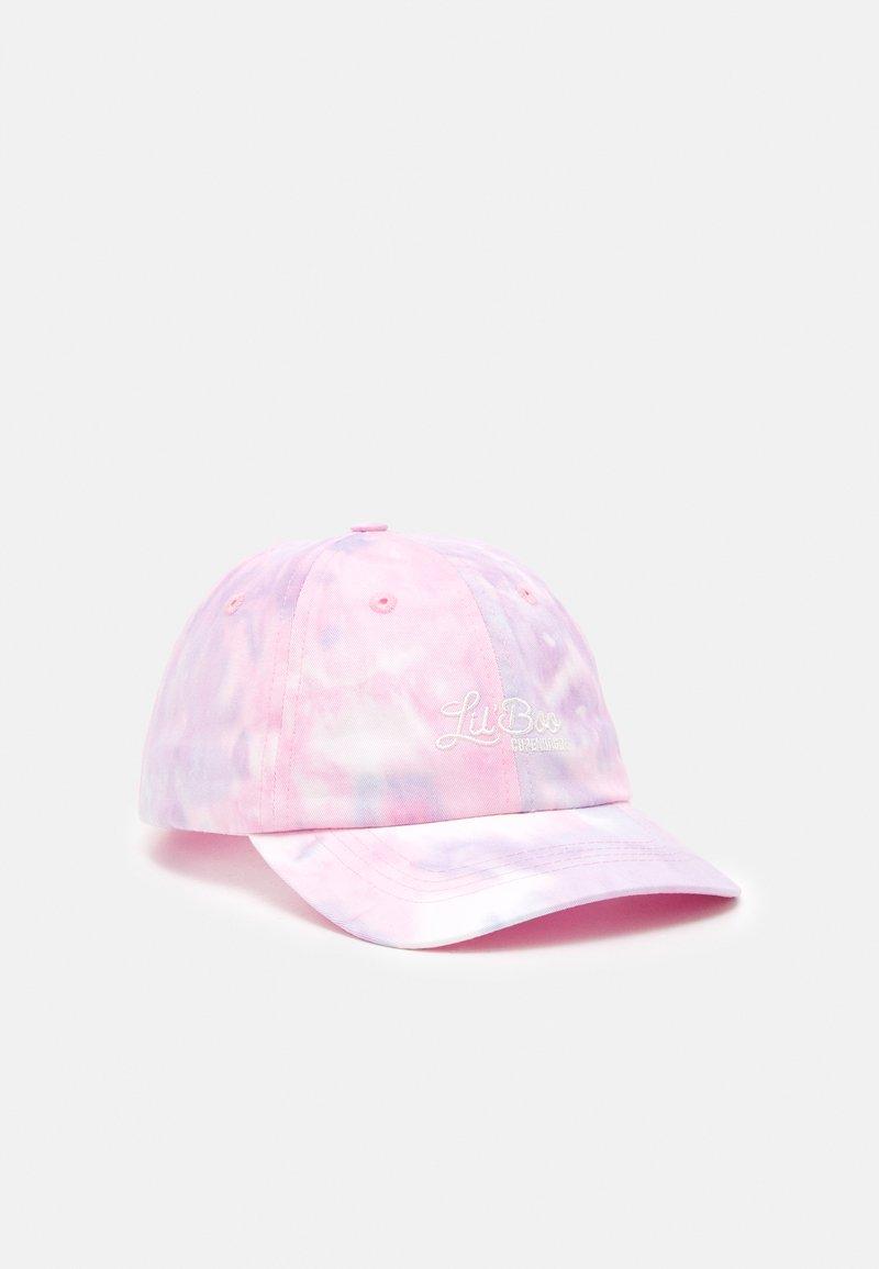 Lil'Boo - DAD  TIE DIE UNISEX - Kšiltovka - pink/light blue
