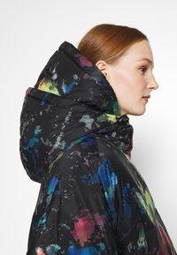 Diesel - JANUA - Winter coat - black/multicolour - 4