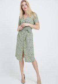 Fransa - Day dress - green - 1
