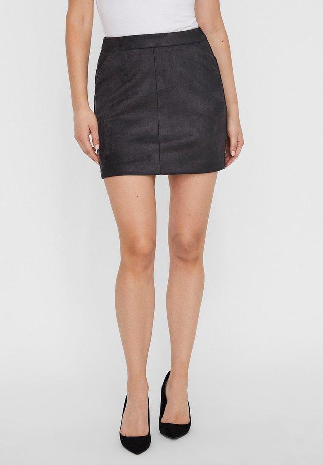VMDONNA DINA - Pencil skirt - asphalt