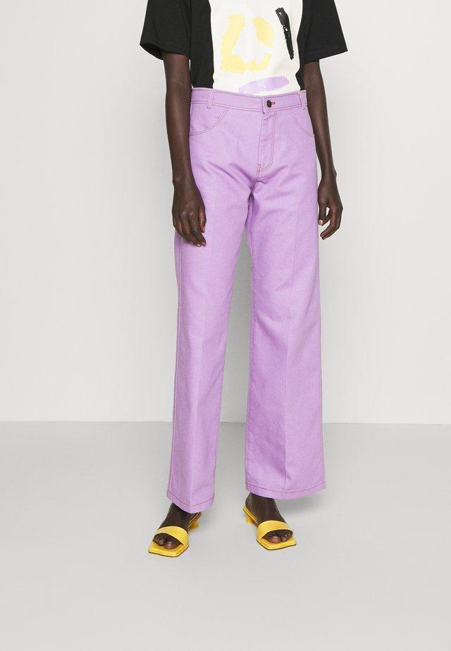 SAWYER  - Straight leg jeans - lilac