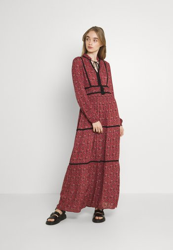 VMALICE ANCLE DRESS - Vestido largo - marsala/rosey