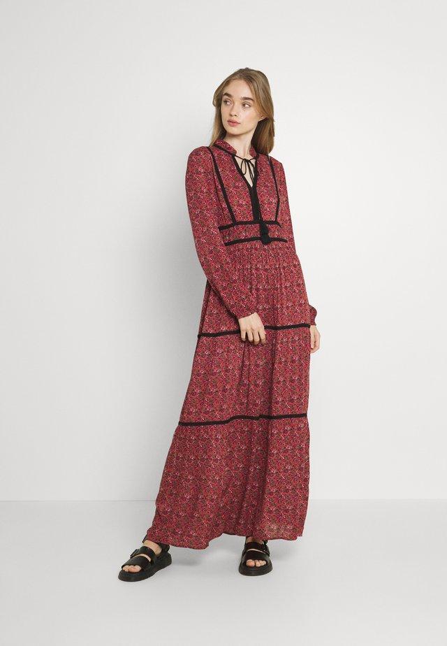 VMALICE ANCLE DRESS - Maxi dress - marsala/rosey