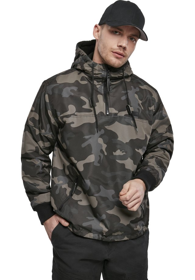 HERREN LUKE WINDBREAKER - Windbreaker - darkcamo