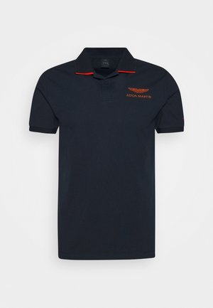 TAPE SHOULDER - Polo - navy