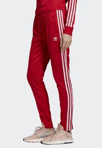 adidas Originals - SST TRACKSUIT BOTTOMS - Tracksuit bottoms - red - 3
