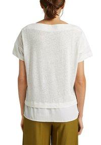 Esprit - Basic T-shirt - off white - 6