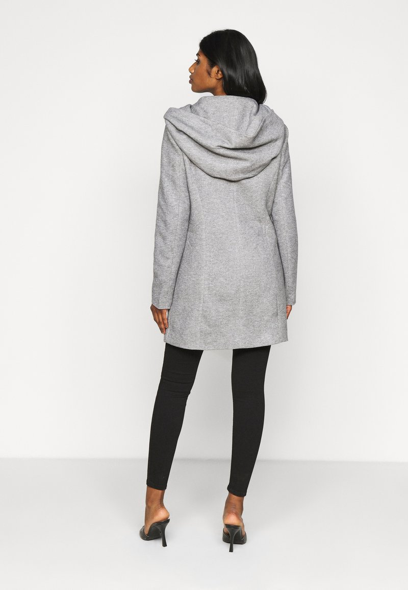 Vero Moda Petite - VMVERODONA JACKET - Wollmantel/klassischer Mantel - light grey