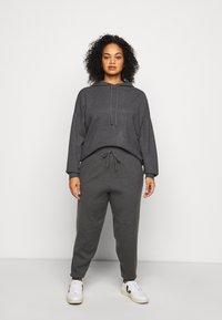 Even&Odd Curvy - Sweatshirt - dark grey - 0