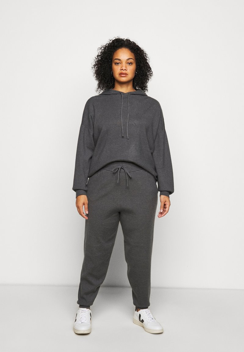 Even&Odd Curvy - Sweatshirt - dark grey