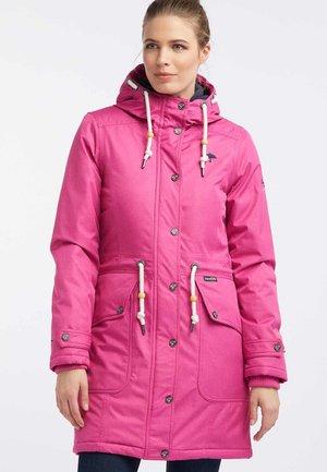 Parka - dark pink melange