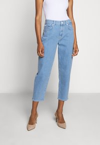 7 for all mankind - MALIA SIMPLICITY - Relaxed fit jeans - light blue - 0