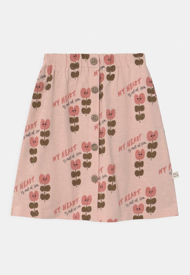 HEART AT SEA - A-line skirt - evening sand