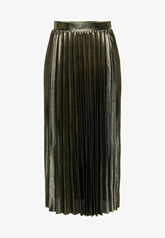 Spódnica trapezowa - gold colour