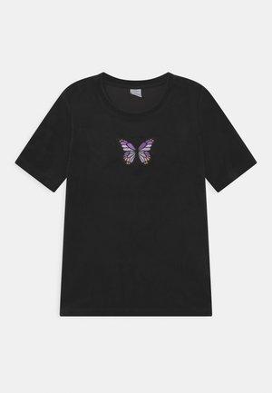 VIOLA - T-Shirt print - black