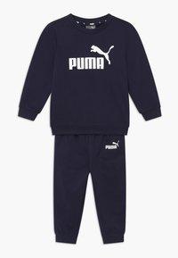 Puma - MINICATSS CREW JOGGER SET - Trainingsanzug - peacoat - 0