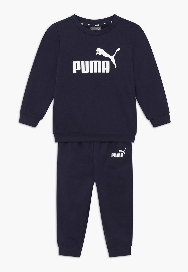 Puma - MINICATSS CREW JOGGER SET - Trainingsanzug - peacoat