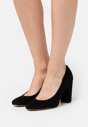 AURELLINE - Lodičky na vysokém podpatku - black