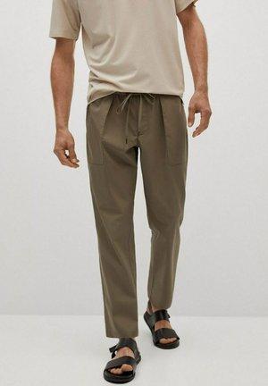 Trousers - nerzgrau