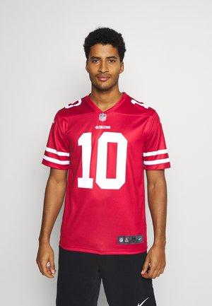 NFL SAN FRANCISCO 49ERS JIMMY GAROPPOLO LEGEND TEAM COLOUR  - Club wear - gym red