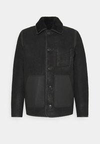 PS Paul Smith - JACKET - Leather jacket - black - 6