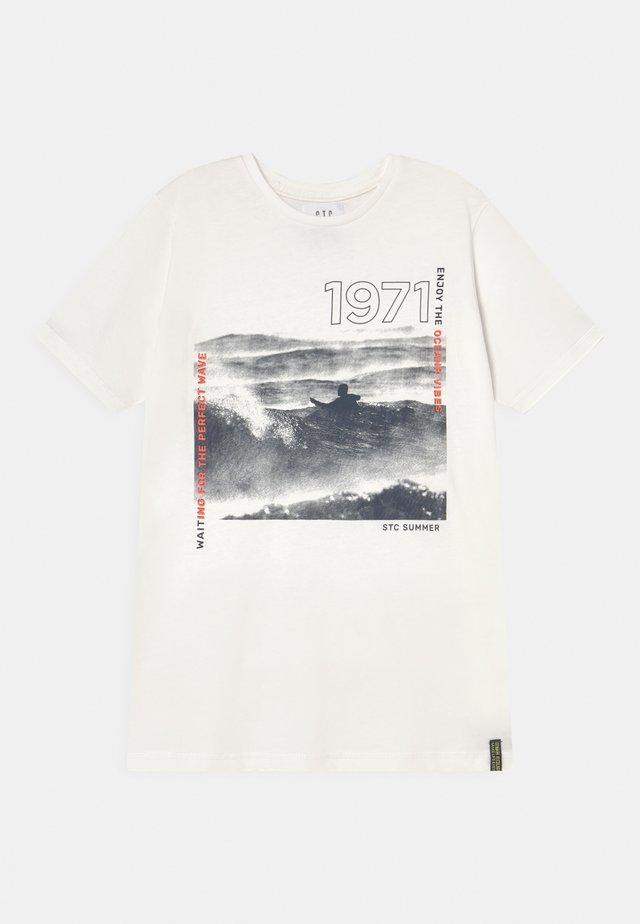 TEEN - T-shirt print - off white
