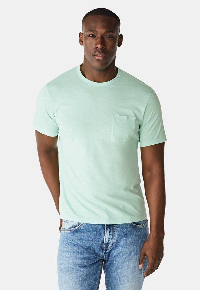 Basic T-shirt - watergreen