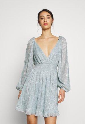 PLISSE MINI DRESS - Cocktail dress / Party dress - mint
